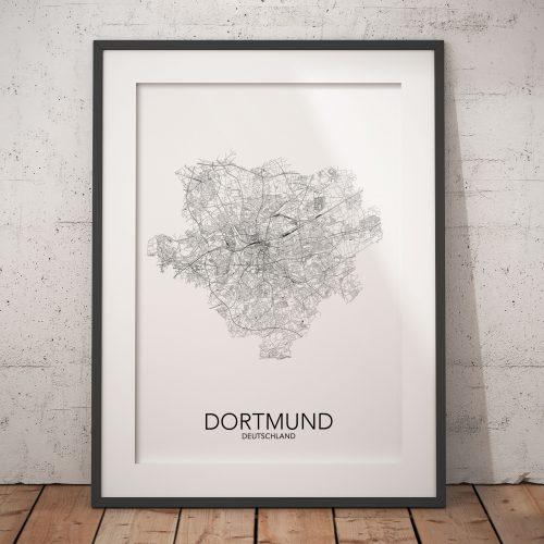 posterlin – Städte-Poster Dortmund