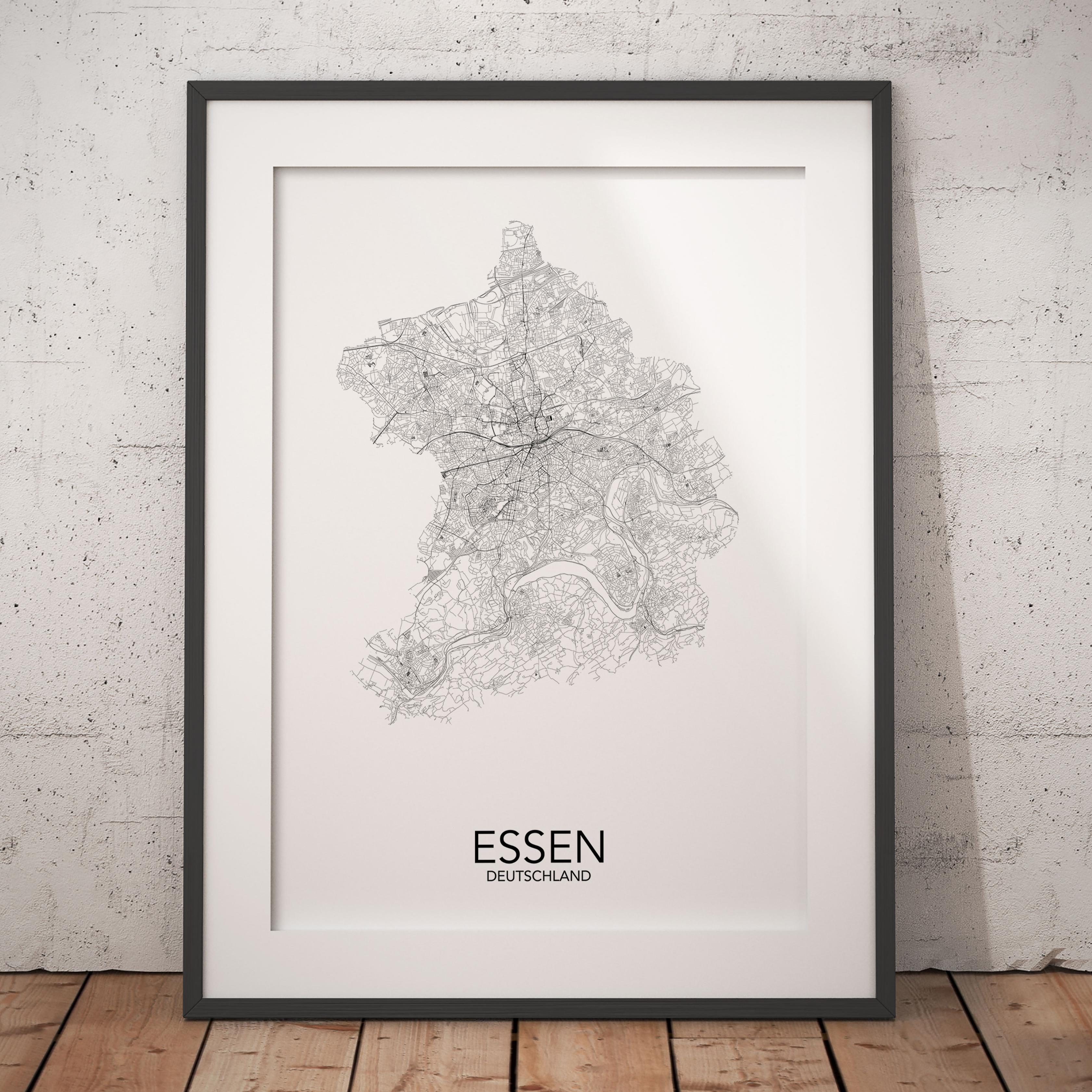 Städte Poster Essen