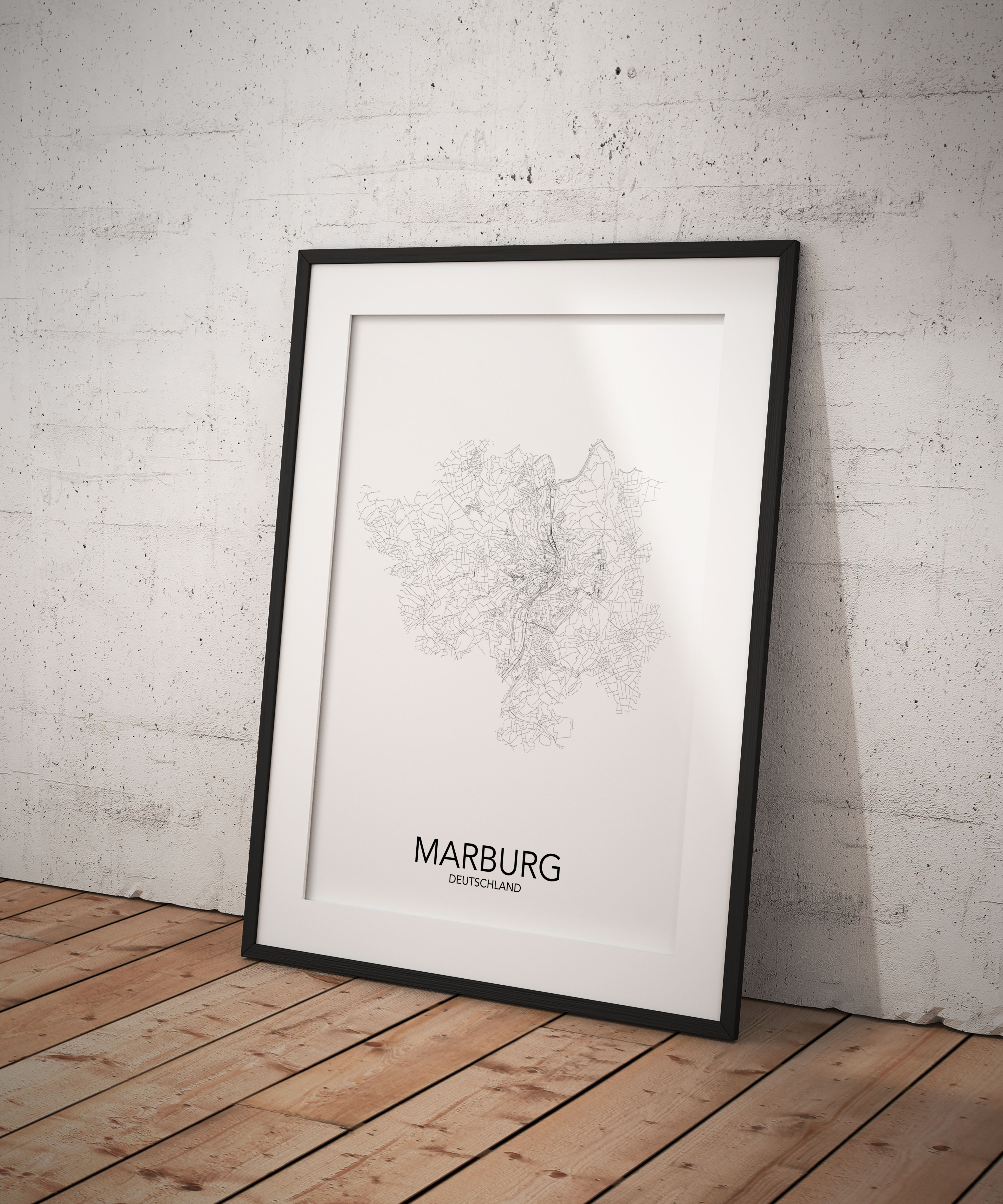 Marburg Poster