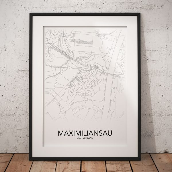 Maximiliansau Poster