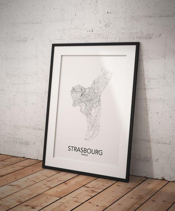 Strasbourg Poster