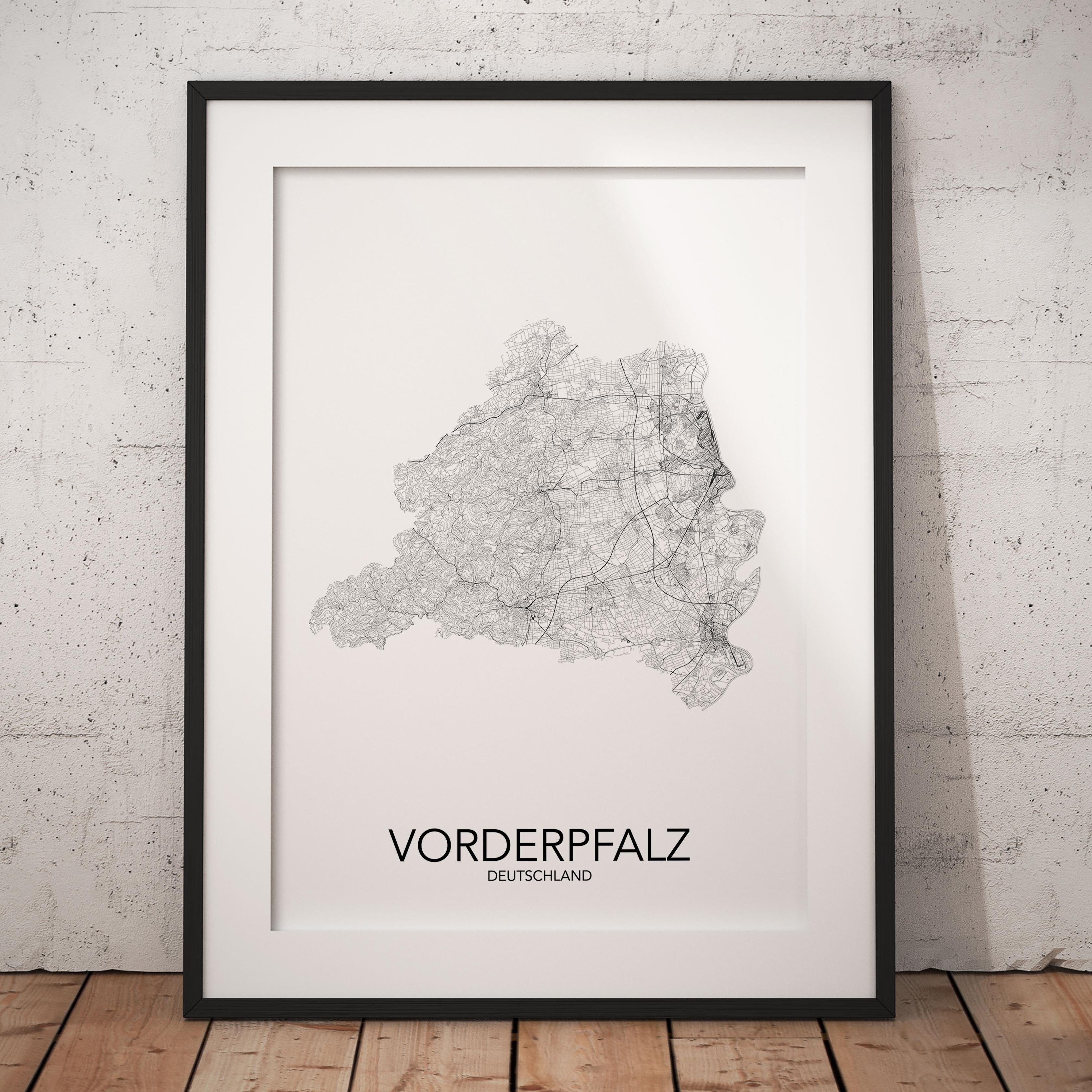 Vorderpfalz Poster