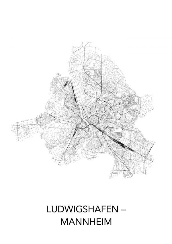 Mannheim_Ludwigshafen Poster
