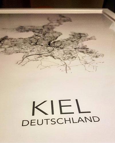 posterlin.de | Städte-Poster | Kiel Inspiration