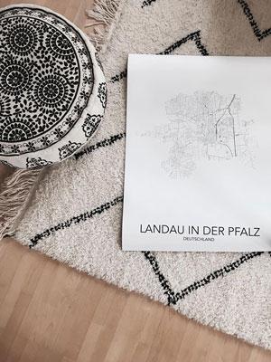 posterlin.de | Städte-Poster | Landau Inspiration